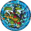 RISE TM TURTLES DINNER PLATE (96/CS) PARTY SUPPLIES