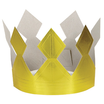 Click for larger picture of HAPPY BIRTHDAY CROWN (12/CS) PARTY SUPPLIES