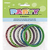 PRINTED BRACELETS FAVORS (72/CS) PARTY SUPPLIES