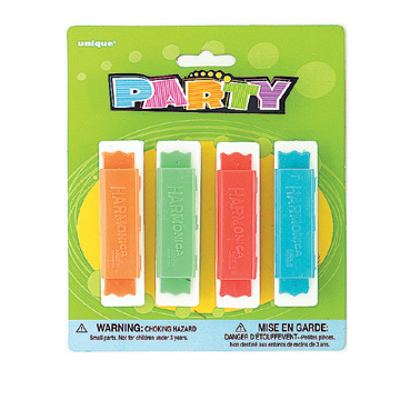 Click for larger picture of HARMONICAS PARTY SUPPLIES