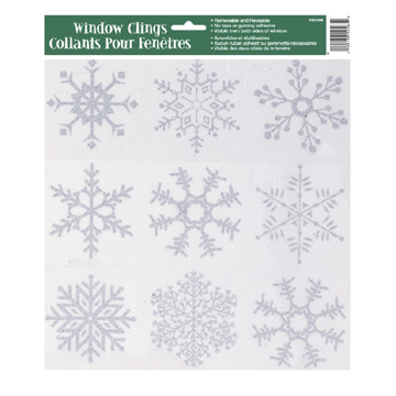 bulk winter holiday decorations party supplies - glitter snowflake