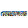 MERRY XMAS BANNER (6/CS) PARTY SUPPLIES