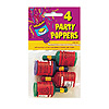 PARTY POPPERS (48/CS) PARTY SUPPLIES