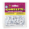 SILVER STAR CONFETTI 0.5 OZ (12/CS) PARTY SUPPLIES