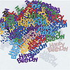 HAPPY BIRTHDAY CONFETTI 0.5 OZ (12/CS) PARTY SUPPLIES