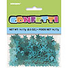 TEAL STAR CONFETTI (12/CS) PARTY SUPPLIES