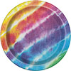 TIE DYE DINNER PLATE PARTY SUPPLIES