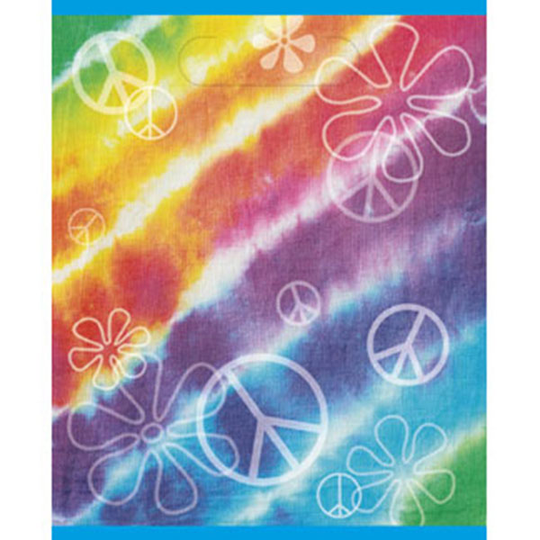 TIE DYE TREAT BAG PARTY SUPPLIES
