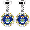 US AIR FORCE CLASSIC DANGLER PARTY SUPPLIES