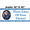 US AIR FORCE PHOTO BANNER JUMBO PARTY SUPPLIES