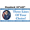 US AIR FORCE PHOTO BANNER PARTY SUPPLIES