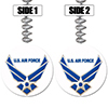US AIR FORCE WINGS DANGLER PARTY SUPPLIES