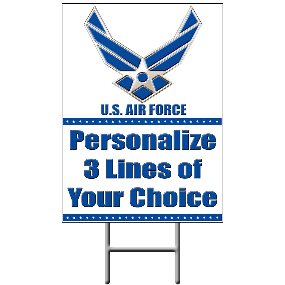 us air force celebration party supplies - air force personalized ...
