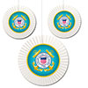 US COAST GUARD FAN DECORATIONS PARTY SUPPLIES