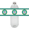US COAST GUARD WATER BOTTLE LABEL PARTY SUPPLIES