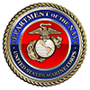 US MARINE CORPS MEDALLION DECORATION PARTY SUPPLIES