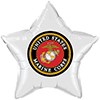 US MARINE CORPS STAR BALLOON PARTY SUPPLIES
