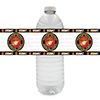 US MARINE CORPS WATER BOTTLE LABEL PARTY SUPPLIES