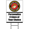 US MARINE CORPS YARD SIGN PARTY SUPPLIES