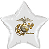 US MARINE EMBLEM STAR BALLOON PARTY SUPPLIES