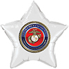 US MARINE MEDALLION STAR BALLOON PARTY SUPPLIES