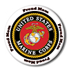 US MARINE PROUD MOM BUTTON PARTY SUPPLIES