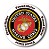 US MARINE PROUD SISTER BUTTON PARTY SUPPLIES