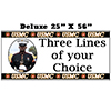 US MARINES PHOTO BANNER DELUXE PARTY SUPPLIES