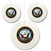 US NAVY CLASSIC FAN DECORATIONS PARTY SUPPLIES