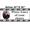 US NAVY PHOTO BANNER DELUXE PARTY SUPPLIES