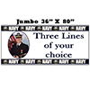 US NAVY PHOTO BANNER JUMBO PARTY SUPPLIES