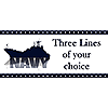 NAVY SHIP BANNER PARTY SUPPLIES
