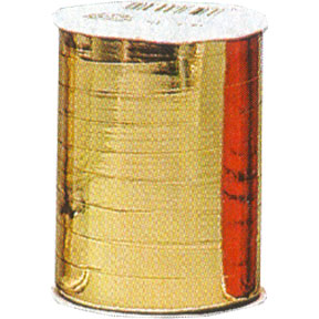 Click for larger picture of 500YDSX3/16IN GOLD MYLAR CURLING RIBBON PARTY SUPPLIES