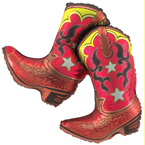 36IN DANCING BOOTS SH 2SD (5/CASE) PARTY SUPPLIES
