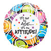 18IN IT'S NOT THE AGE 2SD (10/CASE) PARTY SUPPLIES