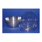 Click for larger picture of BALLOON TRAYS CLEAR PLASTIC (50/CASE) PARTY SUPPLIES