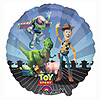 TOY STORY GANG MYLAR BALLOONS (5/CS) PARTY SUPPLIES