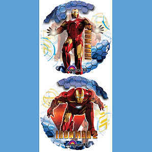 DISCONTINUED IRON MAN 2 JUMBO BALLOON PARTY SUPPLIES