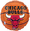 CHICAGO BULLS MYLAR BALLOON PARTY SUPPLIES