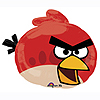 ANGRY BIRDS RED BIRD JUMBO MYLAR BALLOON PARTY SUPPLIES