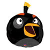 ANGRY BIRDS BLACK BIRD JUMBO MYLAR PARTY SUPPLIES