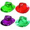 BRIGHT METALLIC FEDORAS HAT PARTY SUPPLIES