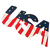 USA METAL SIGN DECORATION PARTY SUPPLIES