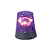 PURPLE POLICE BEACON LIGHT PARTY SUPPLIES