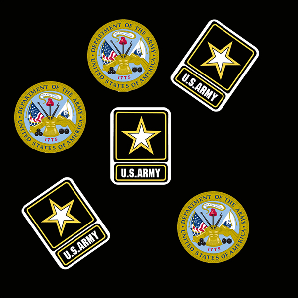 US ARMY DECO FETTI PARTY SUPPLIES