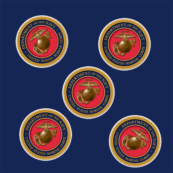 US MARINES DECO FETTI PARTY SUPPLIES