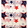 54X108IN. RWB STARS VALUE TABLECOVER PARTY SUPPLIES