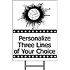 VOLLEYBALL YARD SIGN PARTY SUPPLIES