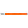 NUMBER ID WRISTBAND NEON ORANGE -1200/CS PARTY SUPPLIES