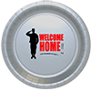 WELCOME HOME DINNER PLATE 8/PKG PARTY SUPPLIES